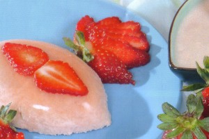 Crème de fraises