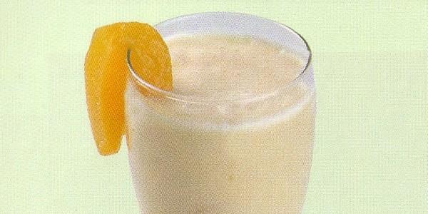 Milk-shake à la pêche