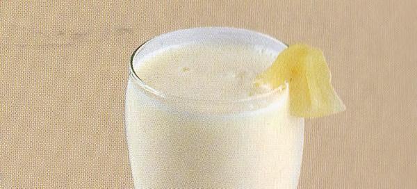 Milk-shake à l'ananas