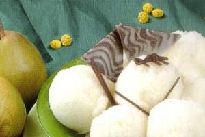 Sorbet aux poires