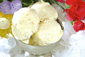 créme glacée au lait concentré