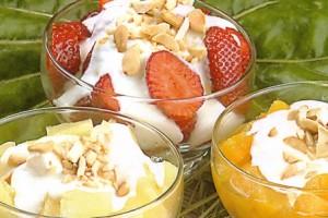 Fruits au yaourt
