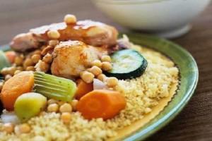Couscous Algérois au poulet