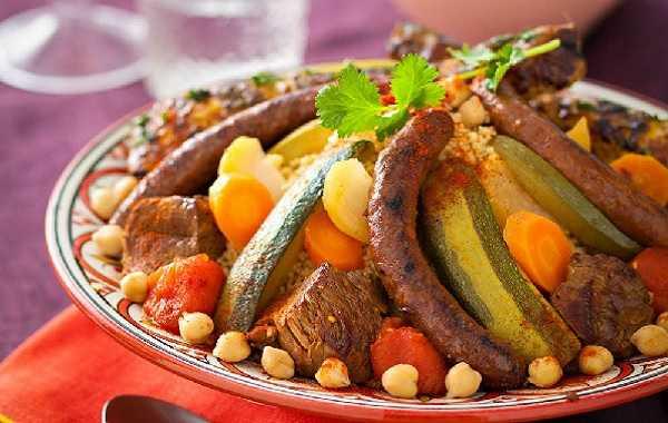 Couscous royal marocain couscous plats du maroc - Maroc cuisine traditionnel ...
