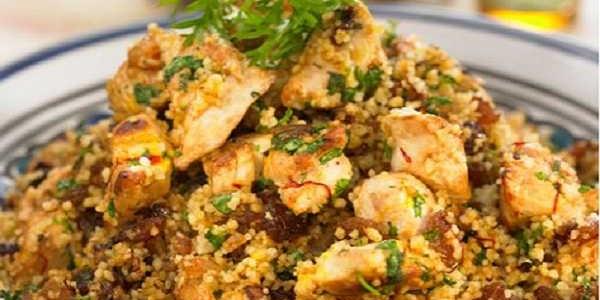 Couscous épicé au poulet