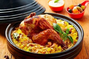 Riz épicé au poulet