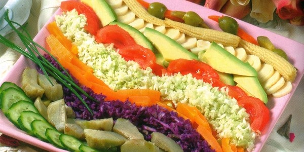 Decoration Salade Marocaine